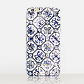 Antique Tiles Phone Case For - iPhone 6 Case - iPhone 5 Case - iPhone 4 Case - Samsung S4 Case - iPhone 5C - Tough Case - Matte Case-Samsung
