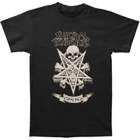 Suicidal Tendencies Men's  Possessed T-shirt Black Rockabilia