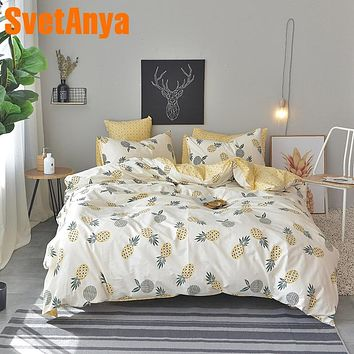 Svetanya Pineapple Bedding Duvet Cover Set