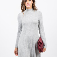 Super Soft Flared Dress