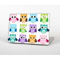 The Emotional Cartoon Owls Skin Set for the Apple MacBook Air 11""
