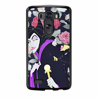 Malficient Disney Floral LG G3 Case