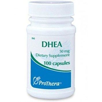 Prothera Dhea Dhea Nutritional Supplements, 50 mg, 100 Count