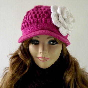 Shop Knit Crochet Hat Patterns On Wanelo