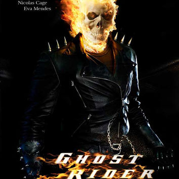 Ghost Rider 27x40 Movie Poster (2007)
