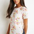 Clustered Floral Print Top