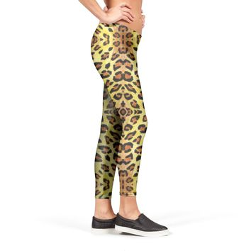 Leopard print pattern Leggings by Savousepate from €37.00 | miPic