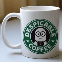BDM 071 Minion Coffee Starbuck - mugs
