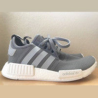 """Women """"Adidas"""" NMD Boost Casual Sports Shoes grey"""