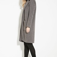 Ribbed Knit Overcoat