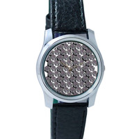 The Psychedelic Skulls Pattern Wrist Watch