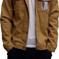 Vogue Gallery Attack on Titan Costume Recon Corps Long Jacket