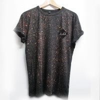 SPRAY ON TEE - DEEP BLACK