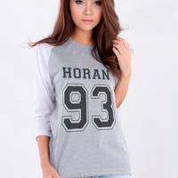 Niall Horan 1D Baseball tee T-Shirt womens gifts womens girls tumblr funny slogan fangirls teens girl gift girlfriends present blogger