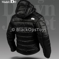 "Magic Cube 1/6 North Face Style Ultralight Black Down Jacket ""The Division"""