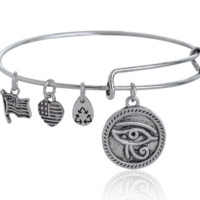 Alex and Ani eye pendant charm bracelet,a perfect gift !