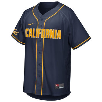 Nike Cal Bears College Baseball Replica Jersey - Navy Blue