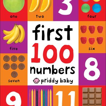 First 100 Numbers Board book – March 7, 2017
