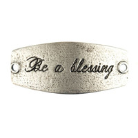 """""""Be a Blessing"""" Lenny and Eva Small Sentiment"""