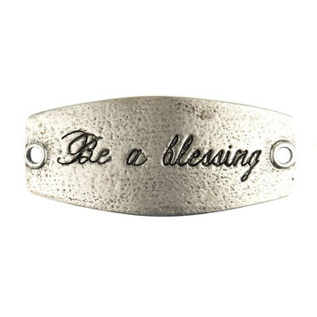 """Be a Blessing"" Lenny and Eva Small Sentiment"