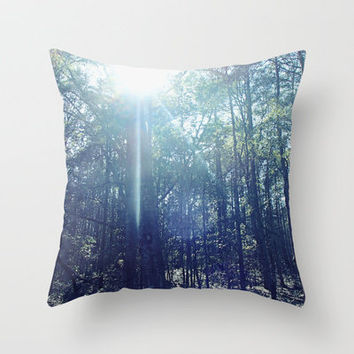 In the Light Throw Pillow by Shawn Terry King