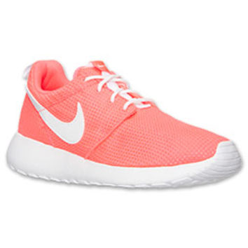 Girls' Grade School Nike Roshe Run Glow Casual Shoes