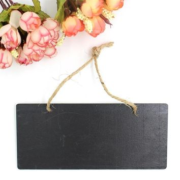 Wooden Chalkboard Message board Wedding Wood Decoration Sign Reception Party Favor