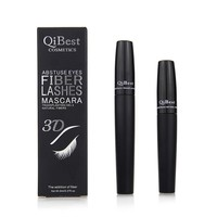 2 pcs Black Mascara + 3D Fiber Black Cosmetic Long  Water-proof Fiber Curl Mascara Eyelash Extension Mascara  M01522