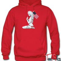 usa girl by killakam hoodie
