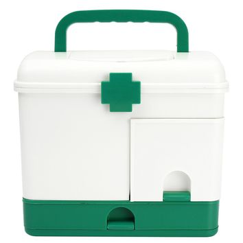 NEW Safurance 3 Layer Health Box Medicine Chest Handle First Aid Kit Storage Organizer Drawer Outdoor Camping Hiking Emergency