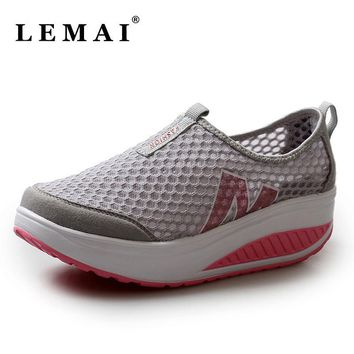 Summer Sports Shoes Women Sneakers Mesh Women Running Shoes Breathable Gauze Shoes