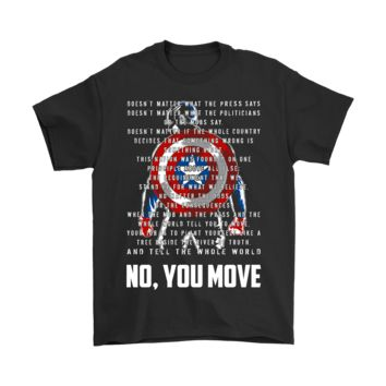 PEAPINY Captain America A Tree Beside The River Of Truth Shirts