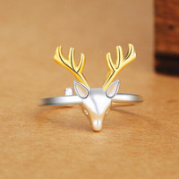 Adjustable Deer Ring