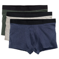 H&M - 3-pack Boxer Shorts - Dark blue - Men