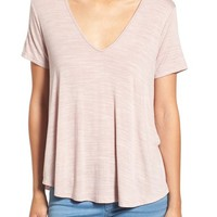 Lush Strappy Back Tee | Nordstrom