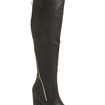 "Women's Steve Madden 'Devlish' Over the Knee Boot, 4 1/2"" heel"