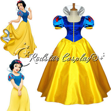Disney Princess Snow white Evening Gown/Party by RedstarCosplay