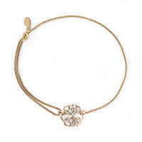 Alex and Ani Path Of Life Pull Chain Bracelet 14kt Gold Plated