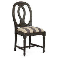 Kellen Dining Chair, Black/White
