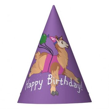 Happy Birthday Llama! Party Hat