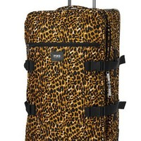Victoria's Secret PINK Women's Leopard Wheelie Suitcase