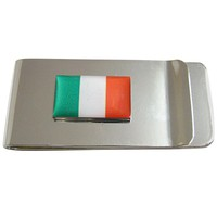 Ireland Flag Pendant Money Clip