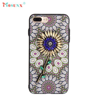 Ecosin2 Mosunx 2017 Exotic Fashion Boutique Beads Phone Case Cover For iPhone 7 Plus 5.5 inch 17Mar14