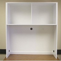 Desk Cubby-White