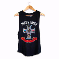 Pugs and Roses Puppy Tank