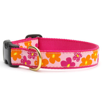 Flower Power Dog Collar