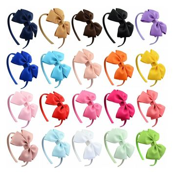 20 PCS/Lot Boutique Hair Clasp Hoop Headbands Tiara Band Accessories Baby Girl Toddlers Infant Children