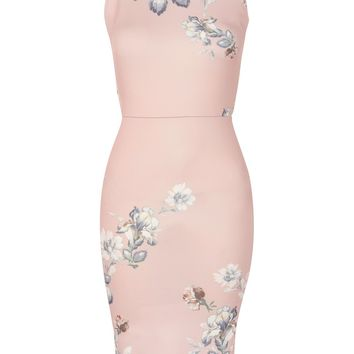 **Floral Print Pencil Dress by Hope & Ivy - Dresses - Clothing