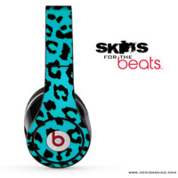 Turquoise Cheetah Skin for the Beats by Dre