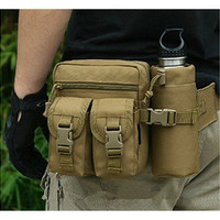 Men's Tactical Casual Fanny Packs Nylon Pouch Waist Bag [10198252423]